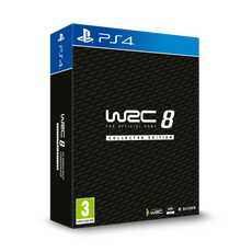 WRC 8 Deluxe Edition PS4 Game