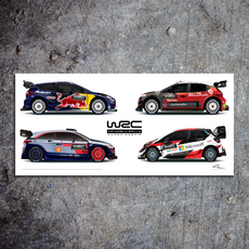 WRC 2018 Rally Car Collection