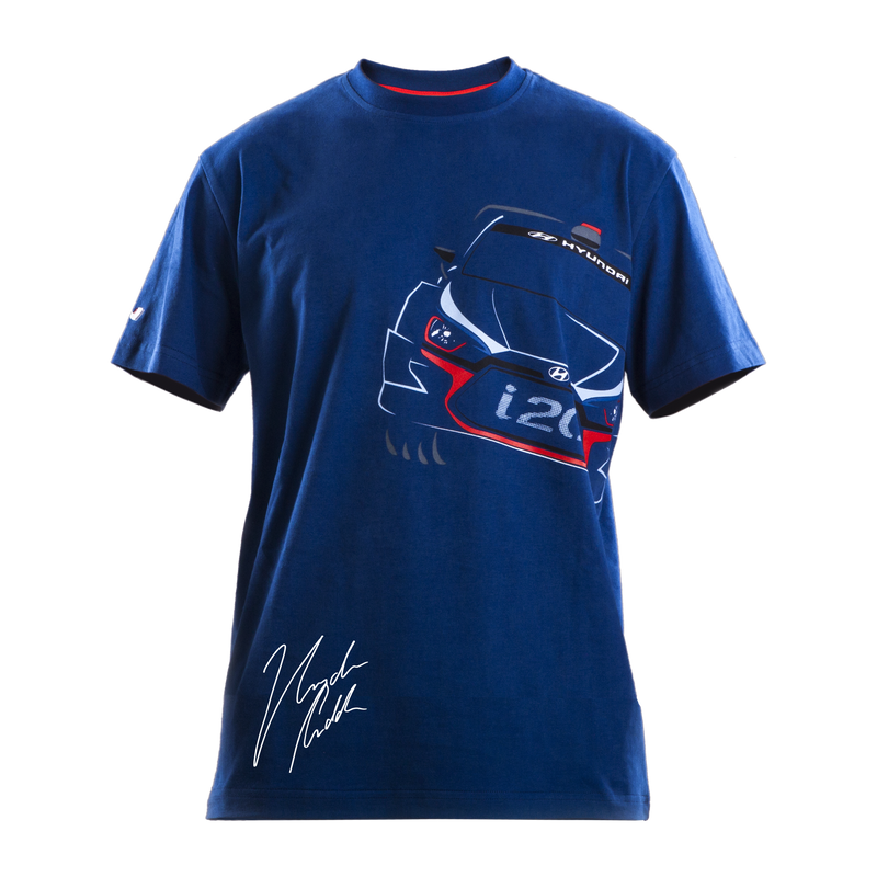Hyundai Design T-Shirt with Paddon Signature