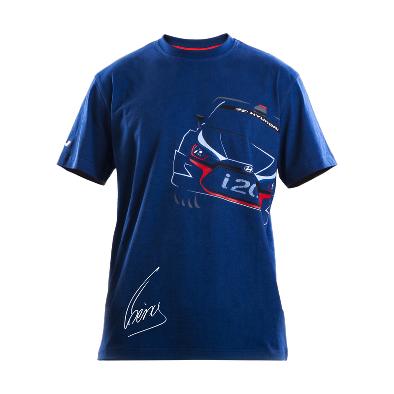 Hyundai Design T-Shirt with Neuville Signature