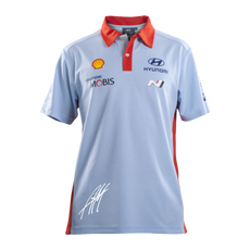 Hyundai Polo Shirt with Mikkelsen Signature