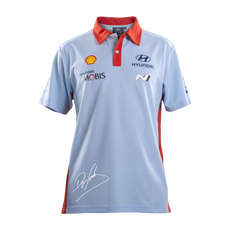 Hyundai Polo Shirt with Sordo Signature