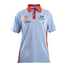 Hyundai Polo Shirt with Paddon Signature