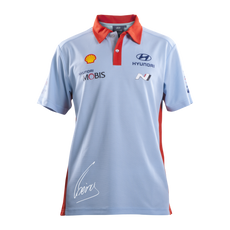 Hyundai Polo Shirt with Neuville Signature