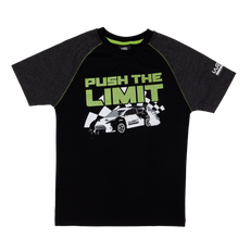 WRC Kids T-Shirt - Push The Limit Raglan
