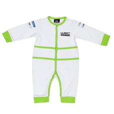 WRC Kids Kicksuit - Kickhard Interlock White