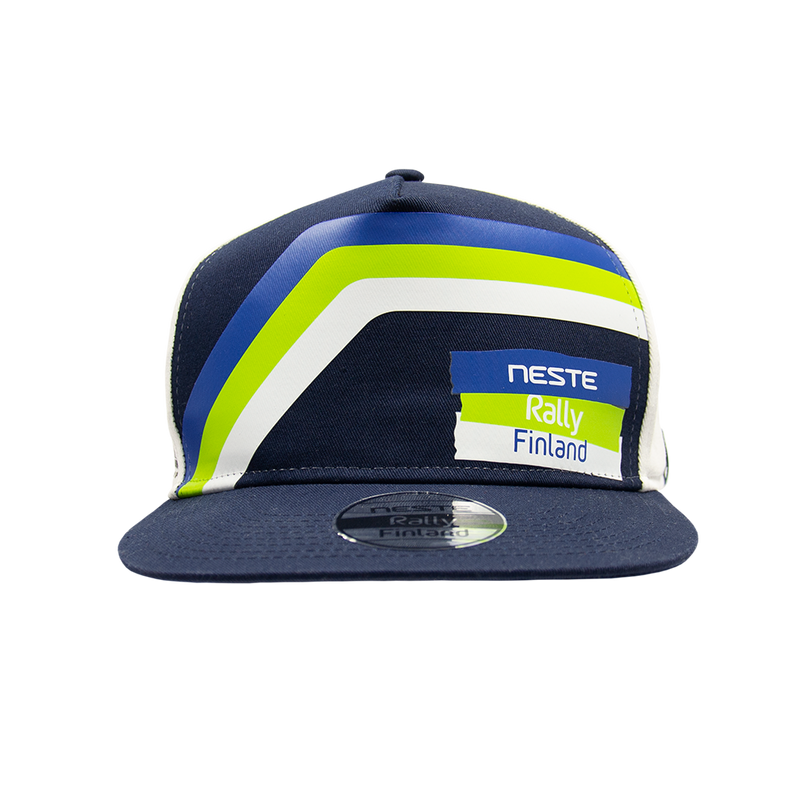 Neste Rally Finland Striped Snapback
