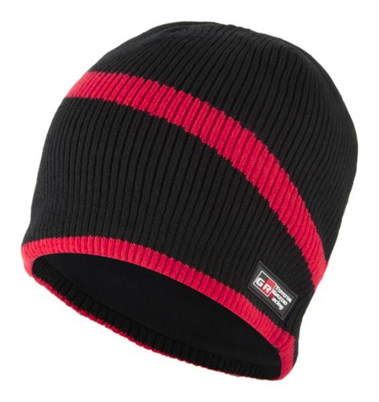 TOYOTA GAZOO Racing Knitted Beanie Black