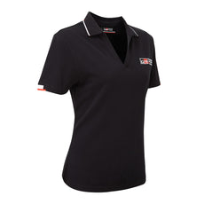 TOYOTA GAZOO Racing Women's Lifestyle Black Polo Shirt