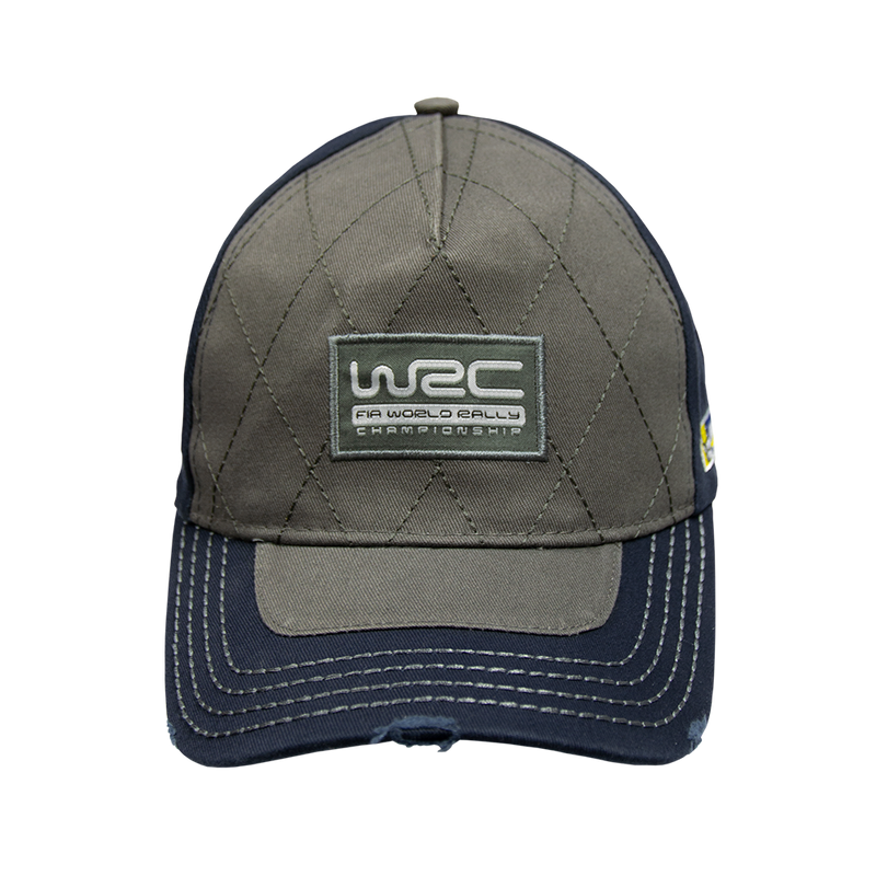 WRC Worn-Out Cap Blue Grey - Headwear