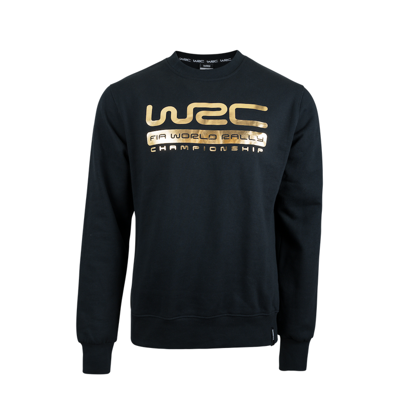 WRC Sweatshirt Gold Black