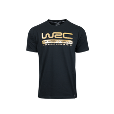 WRC T-Shirt Gold Black