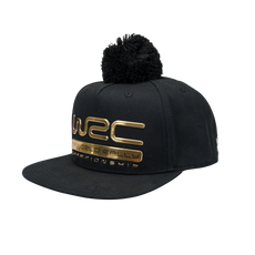 WRC Gold Edition Kid's Black Snapback