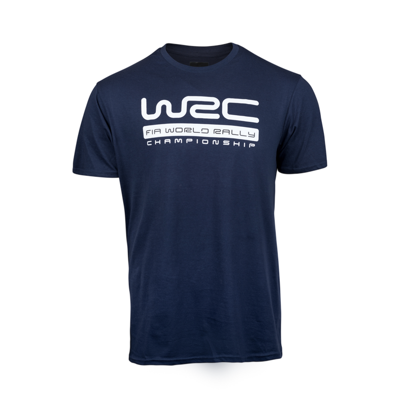 WRC Big Logo Navy T-Shirt