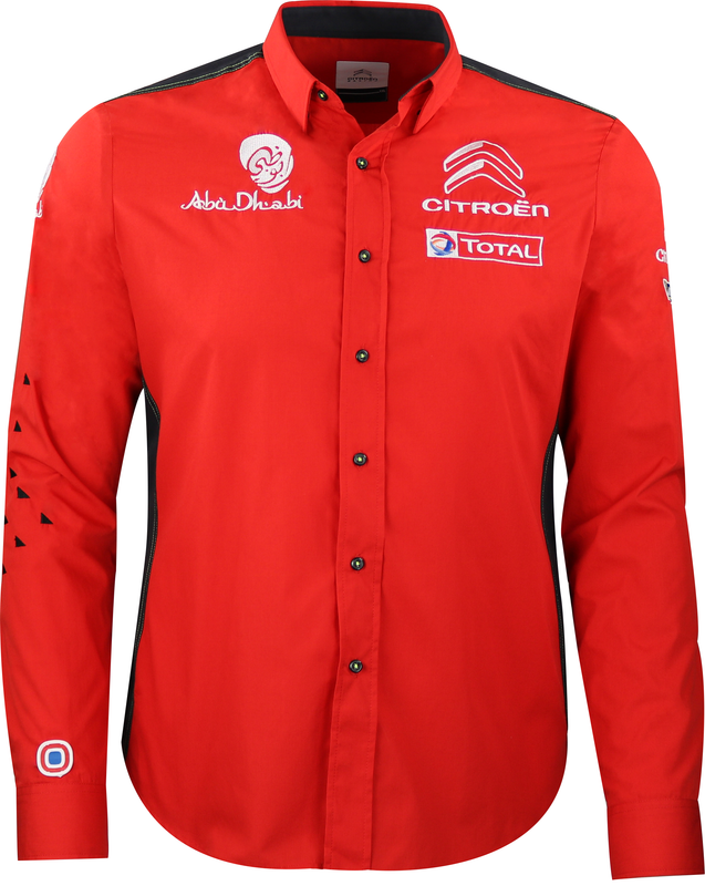 Citroën Racing WRC Replica Collar Shirt Men