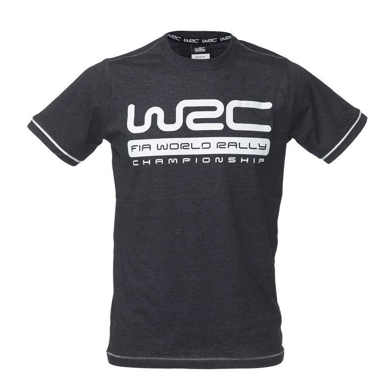 WRC T-SHIRT DARK GREY KIDS