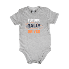 WRC Short Sleeve Grey Baby Bodysuit