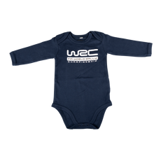 WRC Long Sleeve Navy Baby Bodysuit