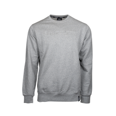 Grey WRC embossed sweater