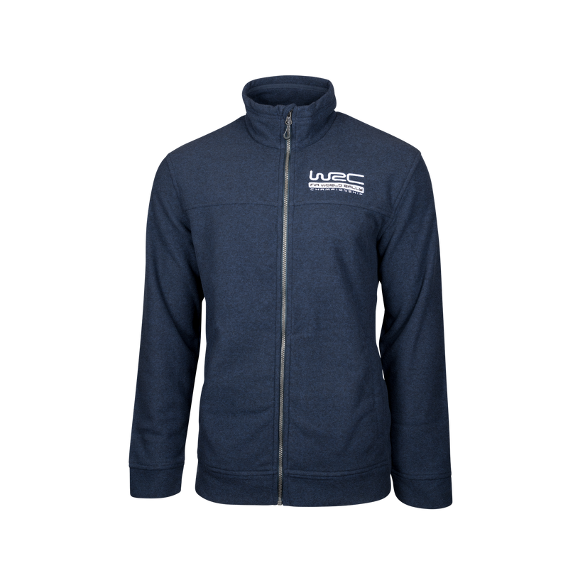 WRC Knit Fleece Jacket Navy