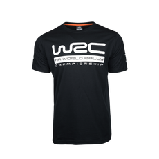 WRC Logo T-Shirt Black 2020