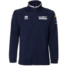 WRC Errea 1/4 Zip Sweater Navy 2019