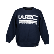 WRC Kids Big Logo Navy Sweatshirt