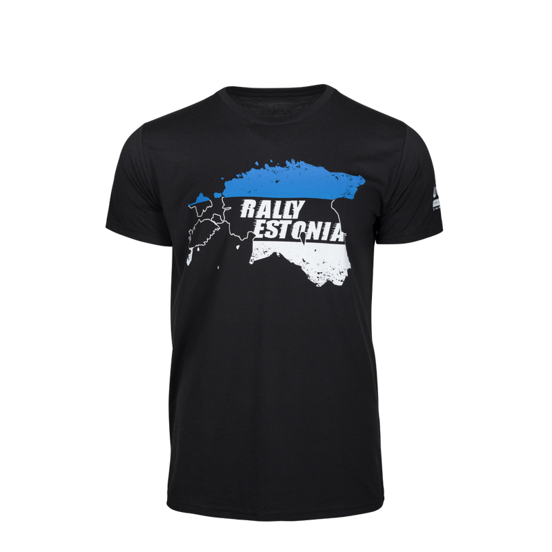 WRC Estonia Black T-Shirt