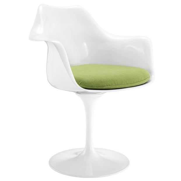 Wantism Tulip Swivel Armchair Light Green