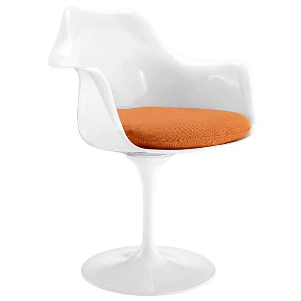 Wantism Tulip Swivel Armchair Orange