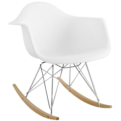 Wantism Ansel Rocker Armchair White