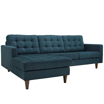 Wantism Anson Left-Facing Sectional Sofa Deep Teal