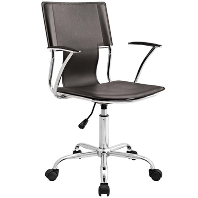 Wantism Verna Office Chair Dark Brown