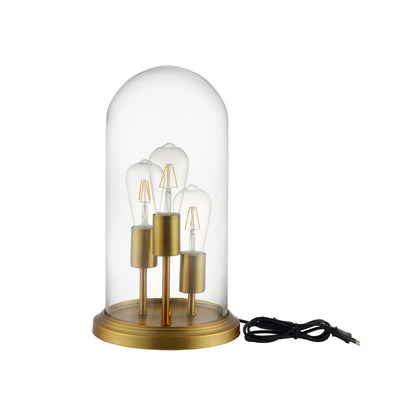 Wantism Brass Dome Table Lamp