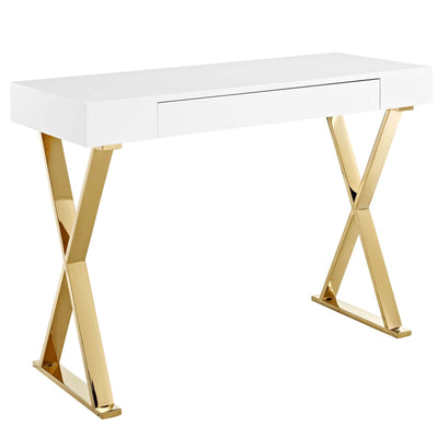 Wantism Svend Gold Console Table