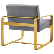 Evelyn Velvet Armchair