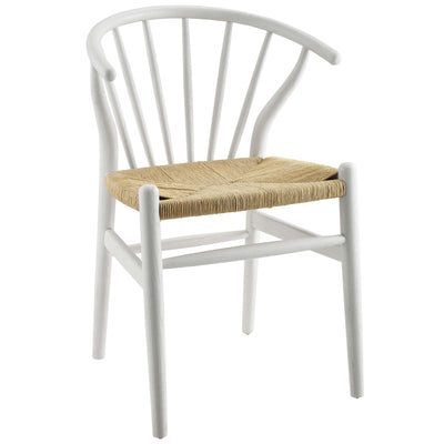 Wantism Winsor Spindle Side Chair White