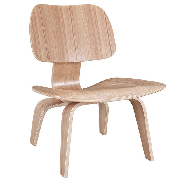Wantism Anders Plywood Lounge Chair Natural