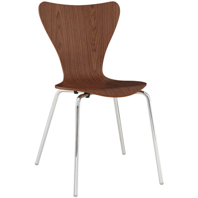 Wantism Vera Side Chair Walnut