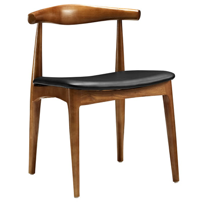 Wantism Elise Walnut Side Chair