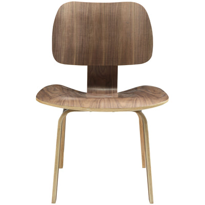 Wantism Anders Plywood Dining Chair Walnut