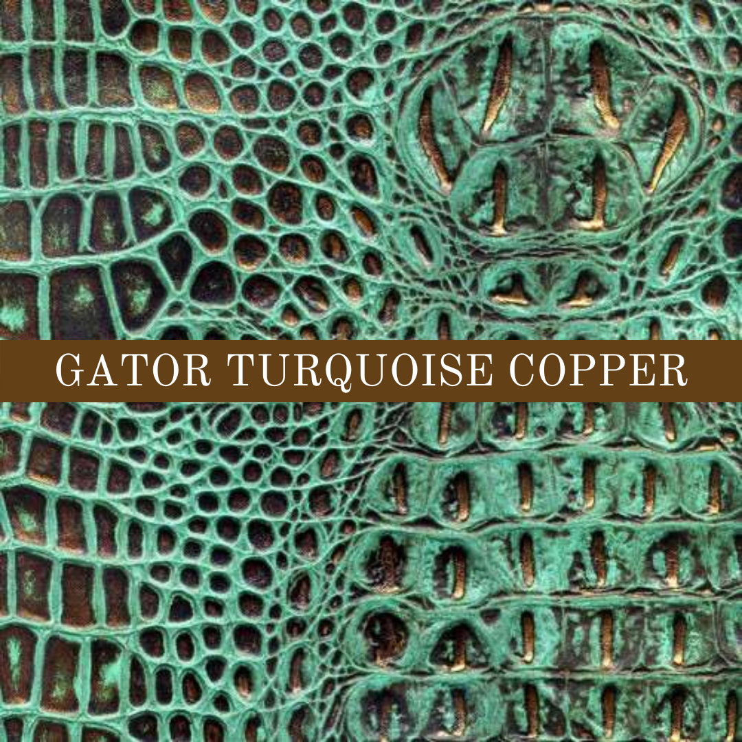 Gator Turquoise Copper