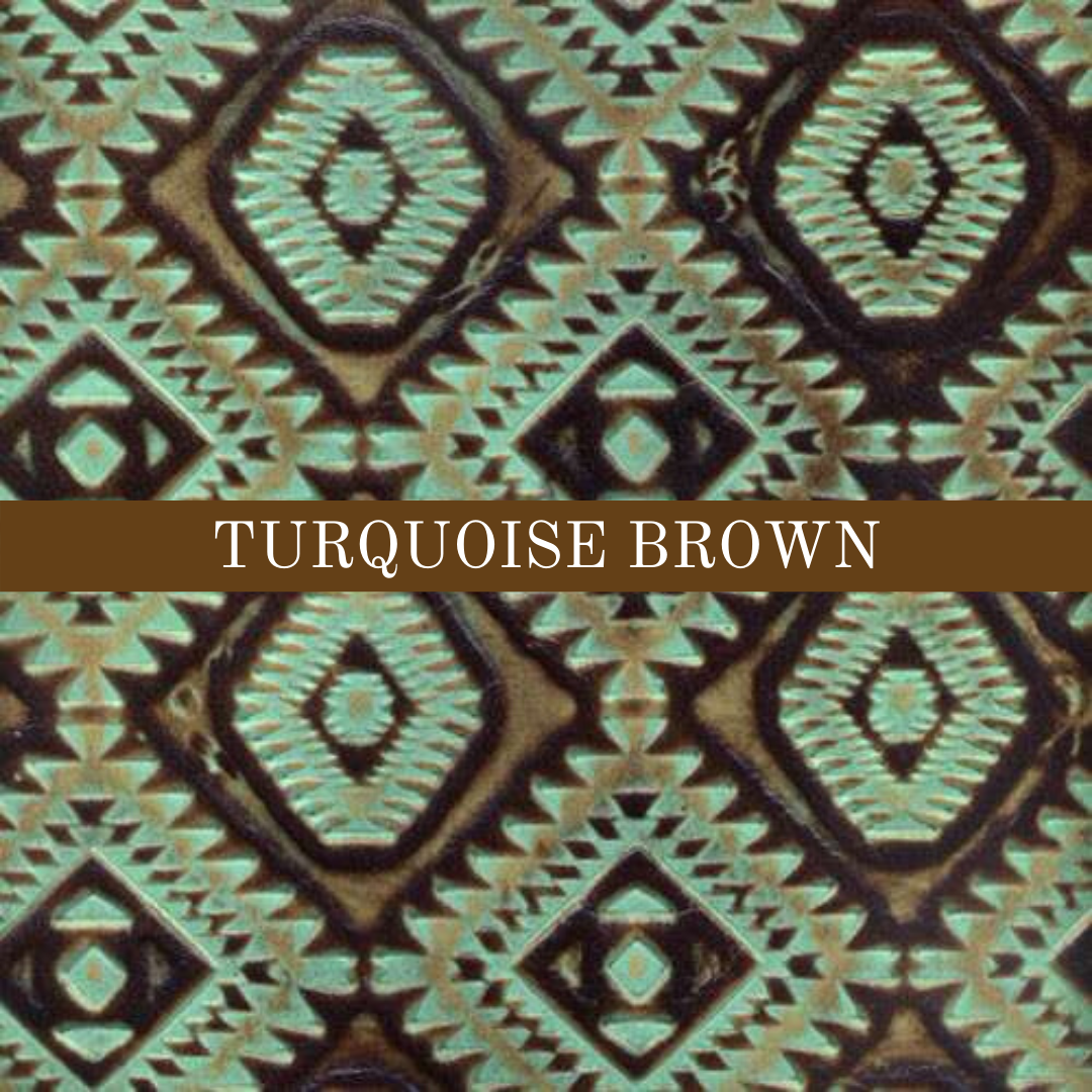 Turquoise Brown