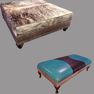 Ottomans & Benches Collection