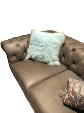 Load image into Gallery viewer, Tibetan Sheep Throw Pillow - Light Teel