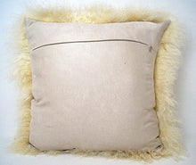 Load image into Gallery viewer, Tibetan Sheep Throw Pillow - Off White