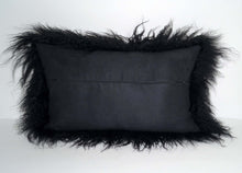 Load image into Gallery viewer, Tibetan Sheep Throw Pillow - Black