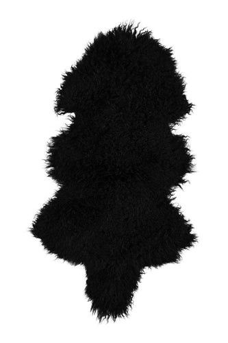 Tibetan Sheep Pelt - Black