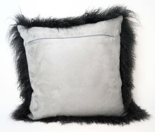 Load image into Gallery viewer, Tibetan Sheep Throw Pillow - Charcoal