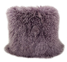 Load image into Gallery viewer, Tibetan Sheep Throw Pillow - Purple / Mauve